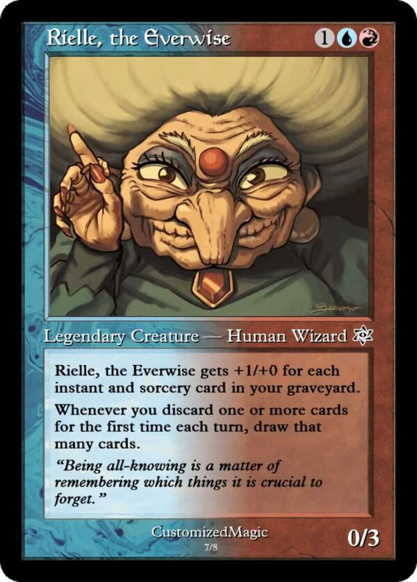 RielletheEverwise15 - Magic the Gathering Proxy Cards