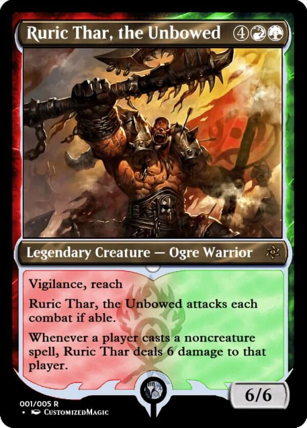 RuricThartheUnbowed.1 - Magic the Gathering Proxy Cards