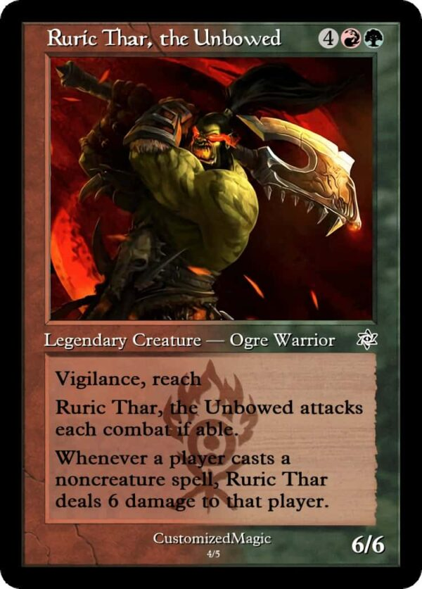 RuricThartheUnbowed.5 - Magic the Gathering Proxy Cards