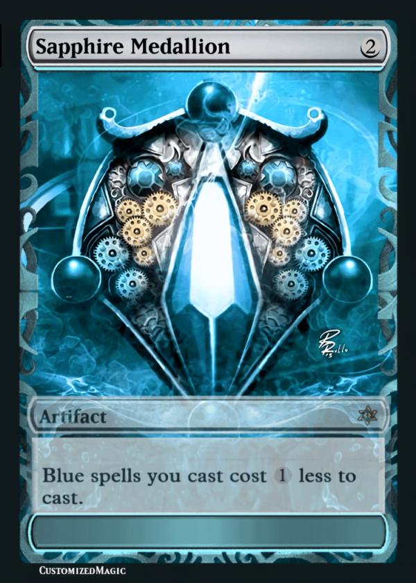 SapphireMedallion11 - Magic the Gathering Proxy Cards