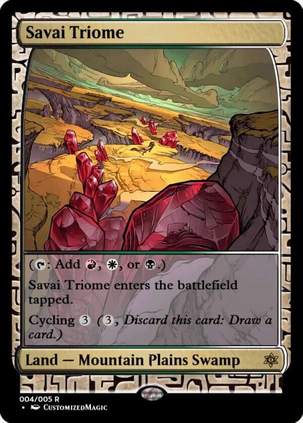 SavaiTriome - Magic the Gathering Proxy Cards