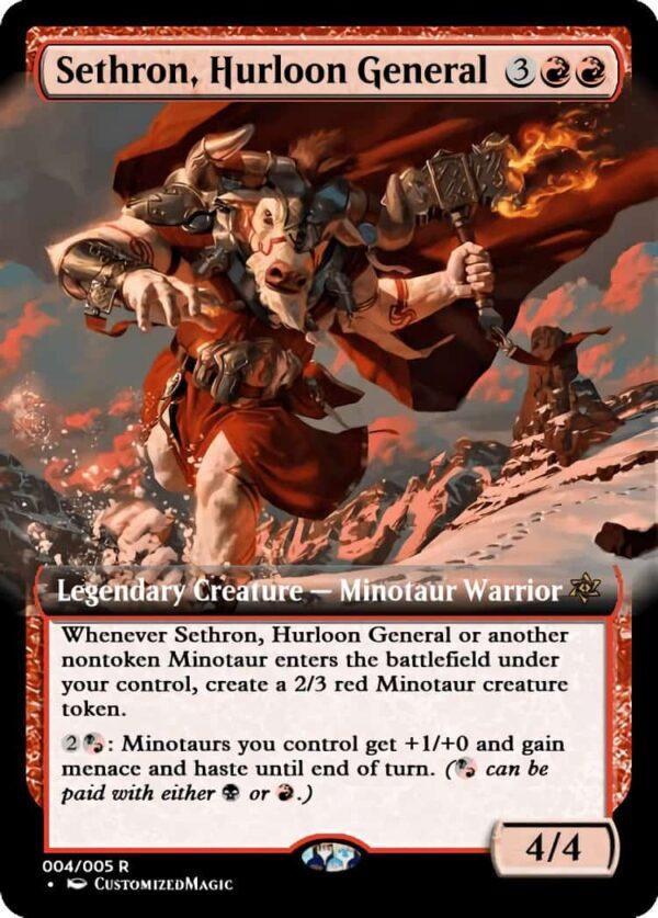 SethronHurloonGeneral - Magic the Gathering Proxy Cards