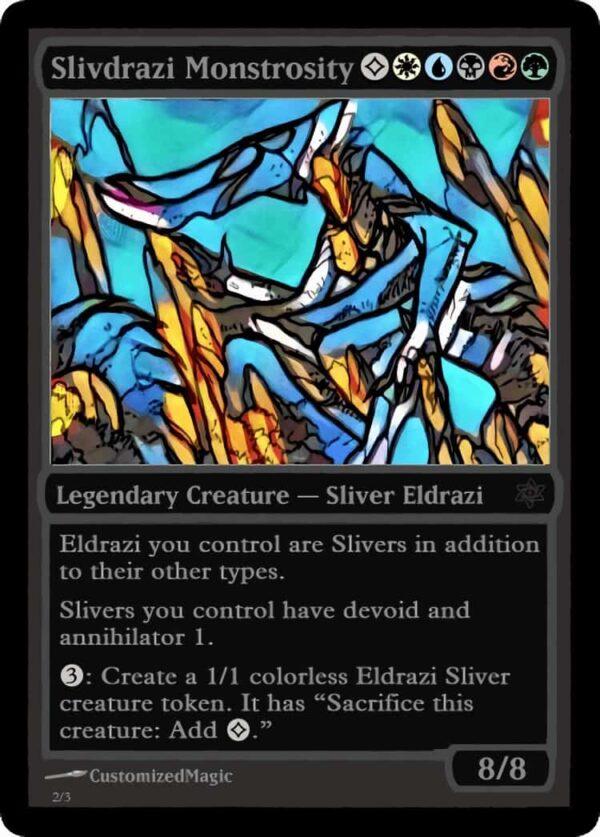 SlivdraziMonstrosity.3 - Magic the Gathering Proxy Cards