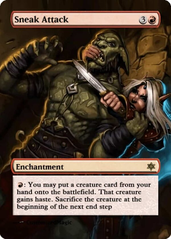SneakAttack.11 - Magic the Gathering Proxy Cards
