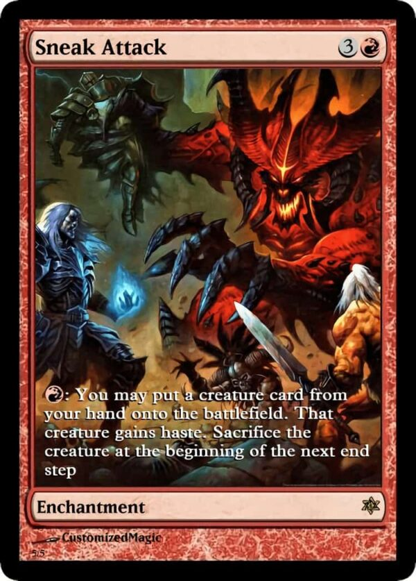 SneakAttack.5 - Magic the Gathering Proxy Cards