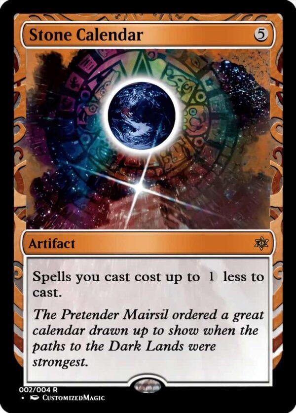 StoneCalendar.1 - Magic the Gathering Proxy Cards