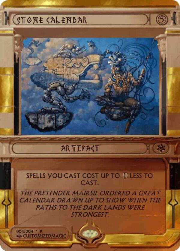 StoneCalendar.4 - Magic the Gathering Proxy Cards