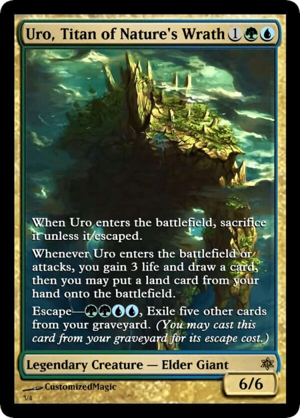 Uro Titan of Natures Wrath.2 - Magic the Gathering Proxy Cards