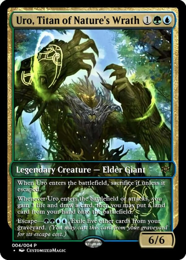 Uro Titan of Natures Wrath.3 - Magic the Gathering Proxy Cards