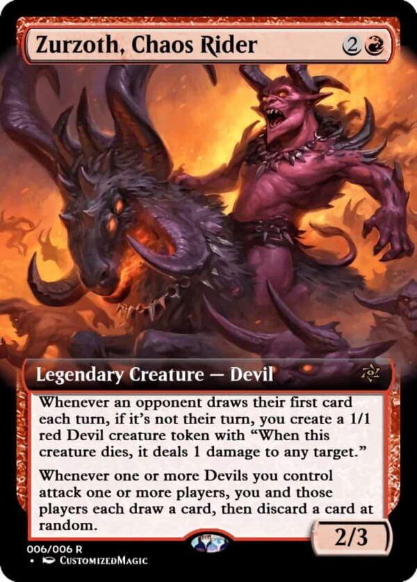 ZurzothChaosRider - Magic the Gathering Proxy Cards