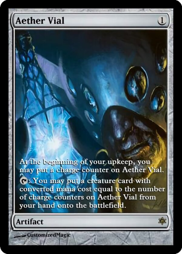 Aether Vial - Magic the Gathering Proxy Cards