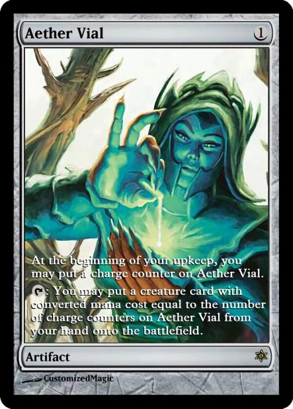 Aether Vial.1 - Magic the Gathering Proxy Cards