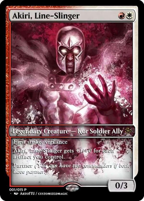 Akiri Line Slinger - Magic the Gathering Proxy Cards