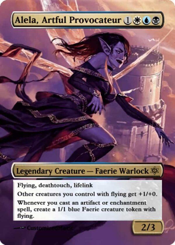 Alela Artful Provocateur.11 - Magic the Gathering Proxy Cards