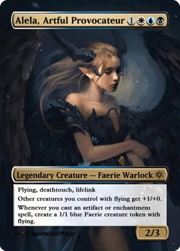 Alela Artful Provocateur.12 - Magic the Gathering Proxy Cards