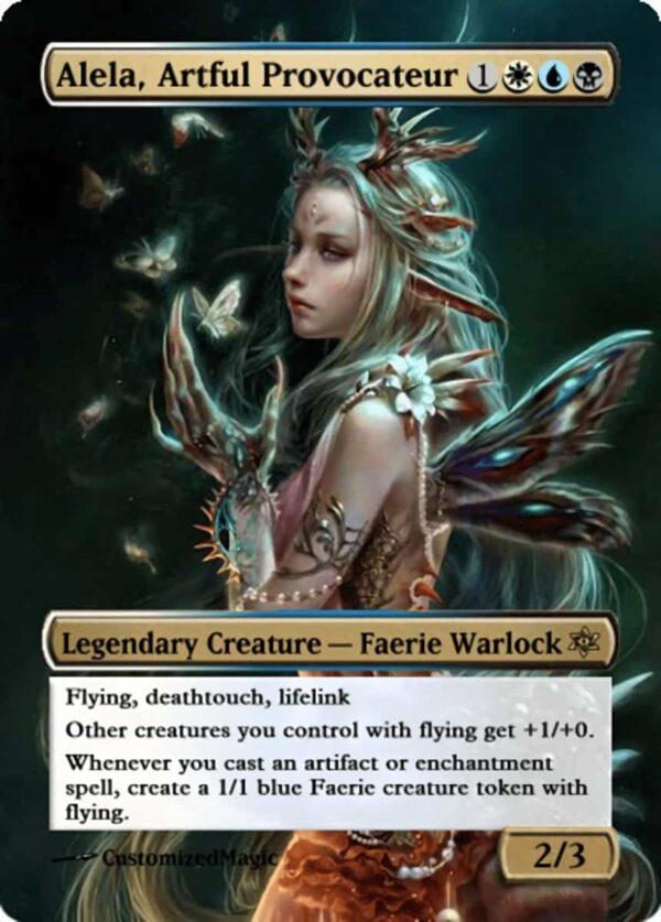 Alela Artful Provocateur.13 - Magic the Gathering Proxy Cards