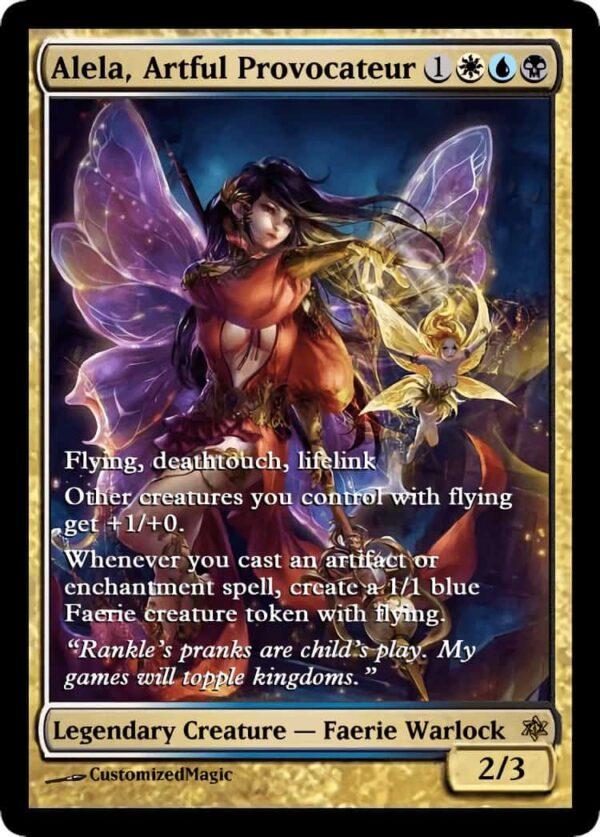 Alela Artful Provocateur.6 - Magic the Gathering Proxy Cards