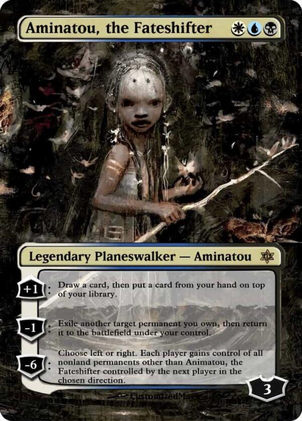 Aminatou the Fateshifter - Magic the Gathering Proxy Cards