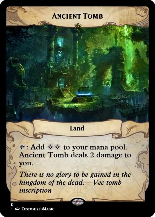 Ancient Tomb - Magic the Gathering Proxy Cards