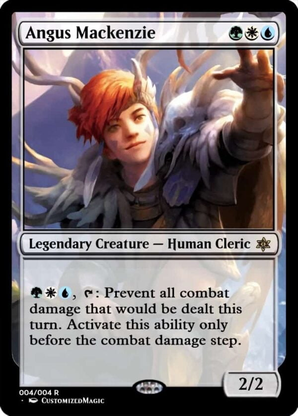 Angus - Magic the Gathering Proxy Cards