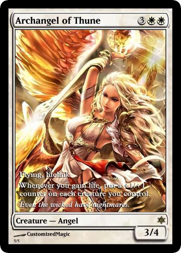 Archangel of Thune 21 - Magic the Gathering Proxy Cards