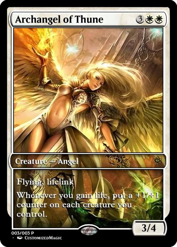 Archangel of Thune 51 - Magic the Gathering Proxy Cards