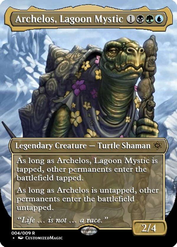 Archelos Lagoon Mystic - Magic the Gathering Proxy Cards