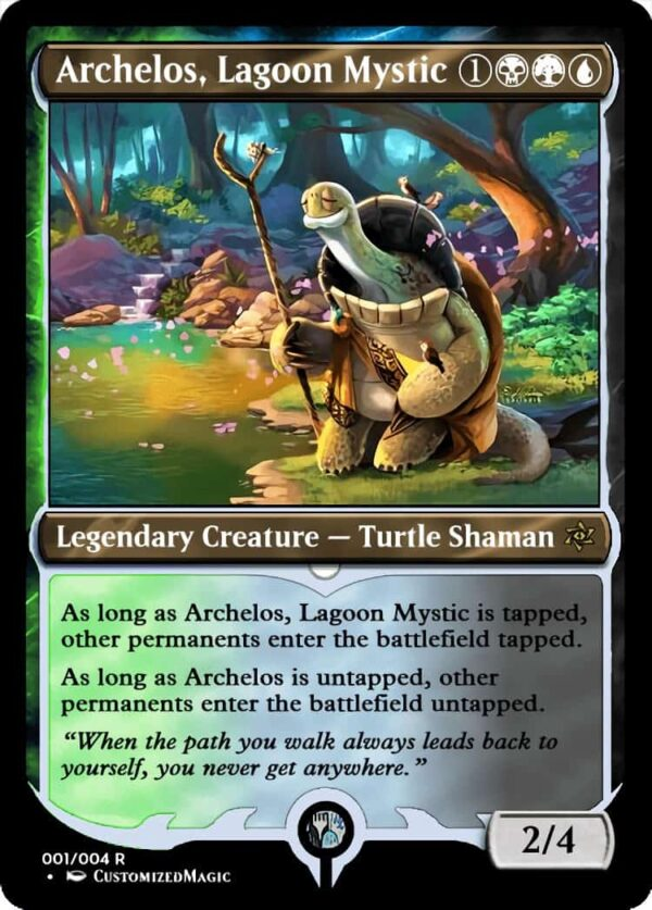 Archelos Lagoon Mystic.1 - Magic the Gathering Proxy Cards