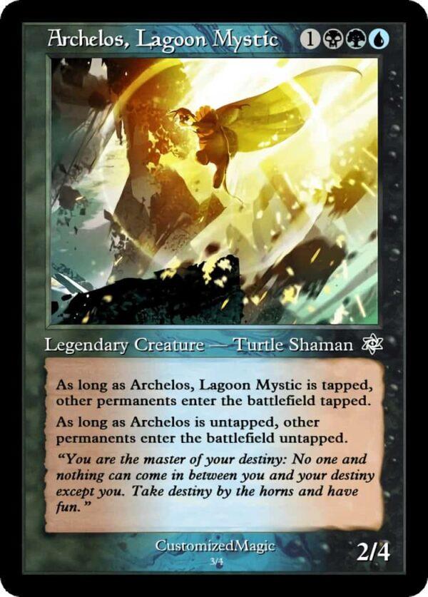 Archelos Lagoon Mystic.3 - Magic the Gathering Proxy Cards