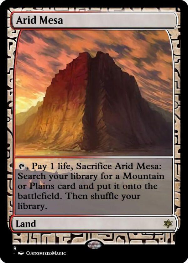 Arid Mesa - Magic the Gathering Proxy Cards