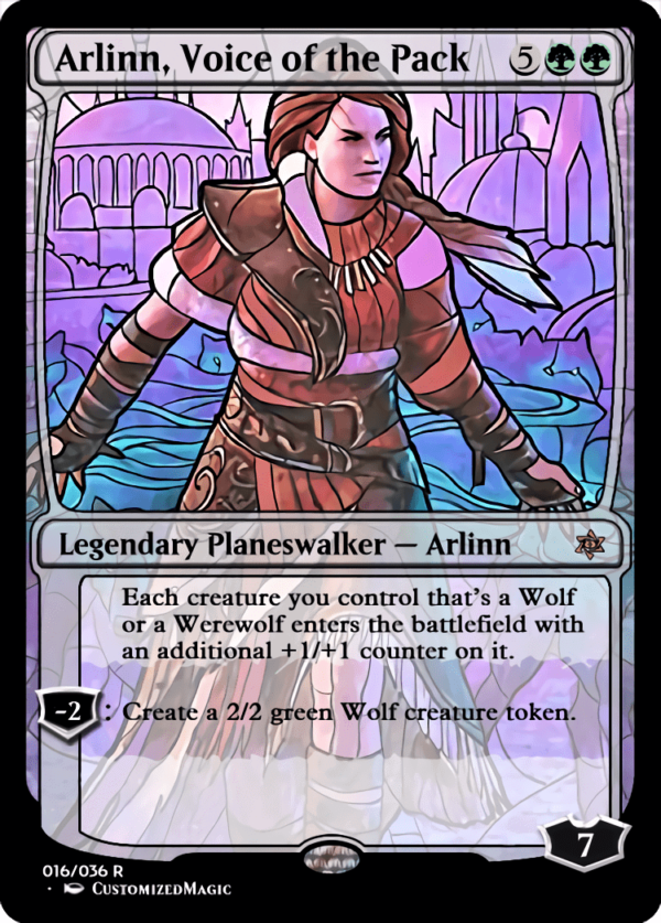 Arlinn Voice of the Pack 1 - Magic the Gathering Proxy Cards