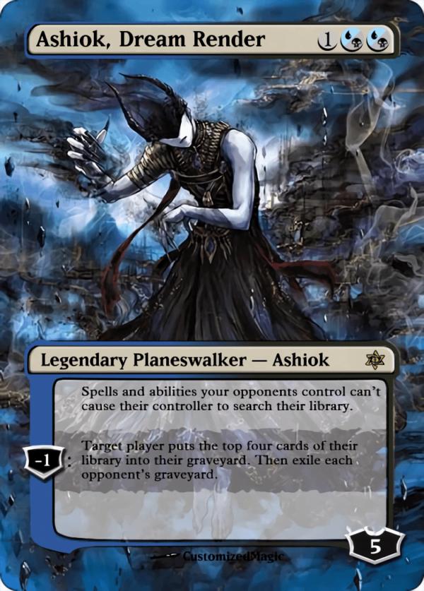 Ashiok Dream Render - Magic the Gathering Proxy Cards