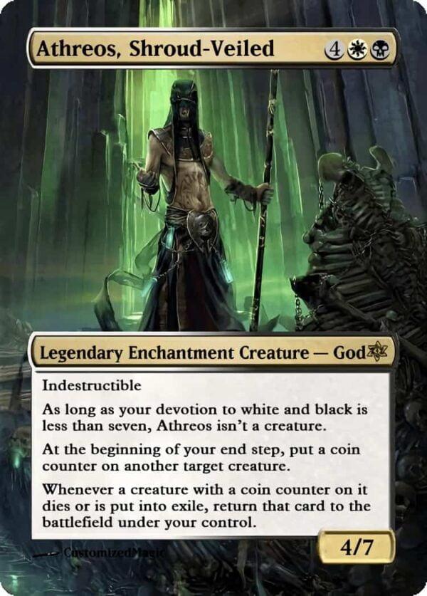 Athreos Shroud Veiled - Magic the Gathering Proxy Cards