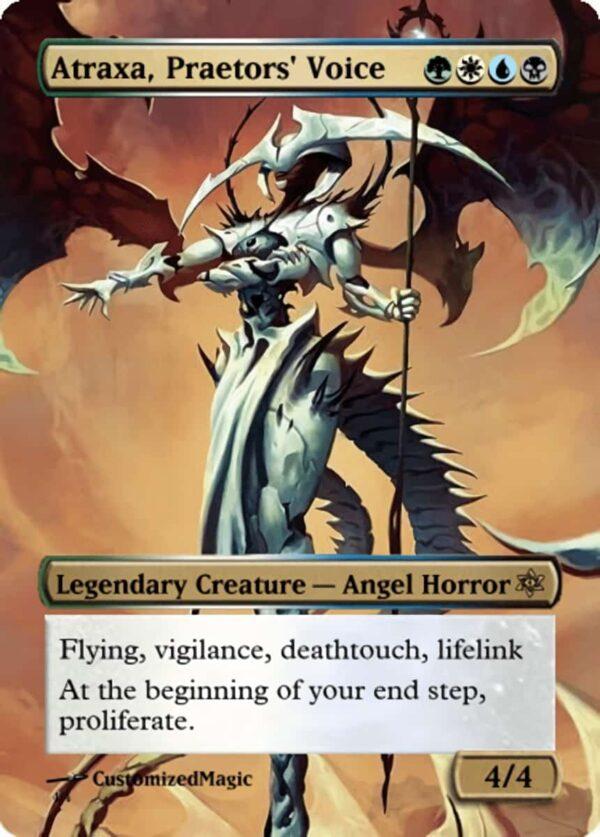 Atraxa Praetors Voice - Magic the Gathering Proxy Cards