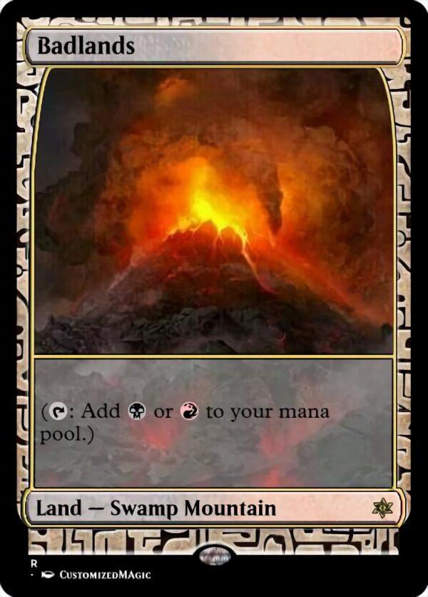 Badlands - Magic the Gathering Proxy Cards