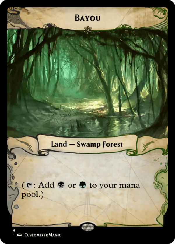 Bayou - Magic the Gathering Proxy Cards