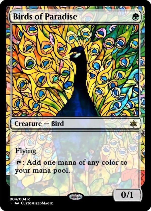 Birds of Paradise - Magic the Gathering Proxy Cards