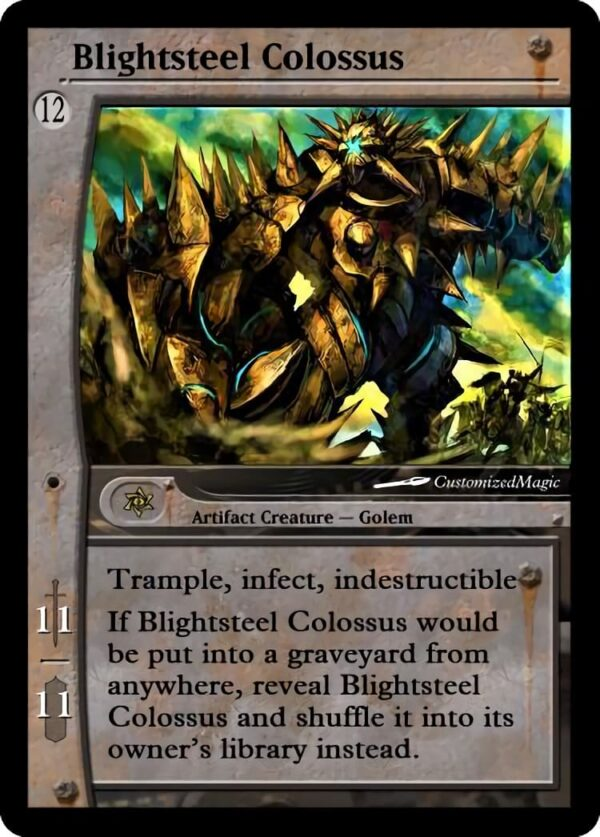 Blightsteel Colossus 1 - Magic the Gathering Proxy Cards