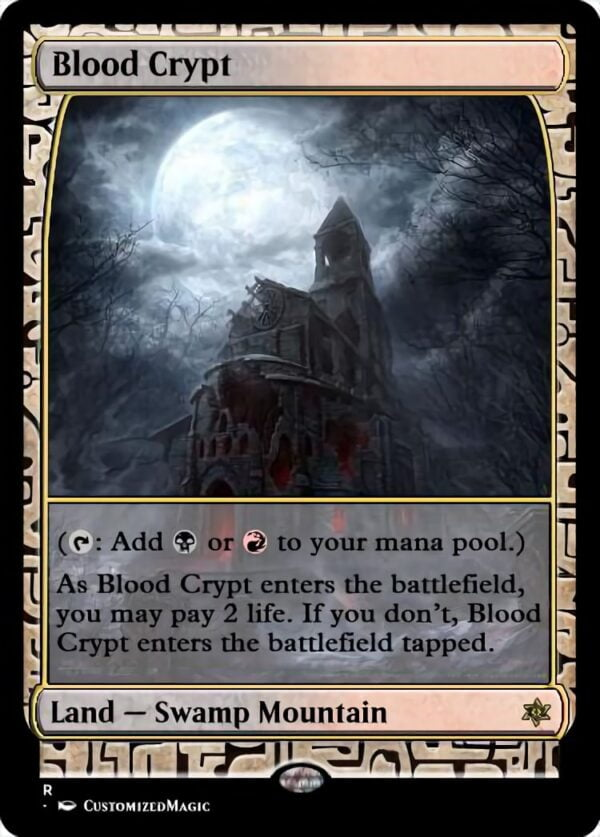 Blood Crypt - Magic the Gathering Proxy Cards