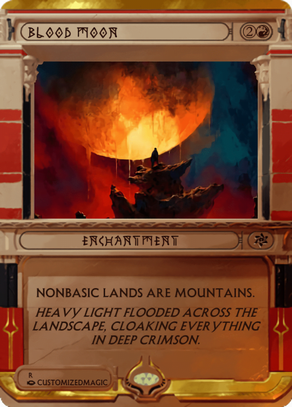 Blood Moon - Magic the Gathering Proxy Cards
