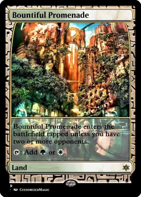 Bountiful Promenade - Magic the Gathering Proxy Cards