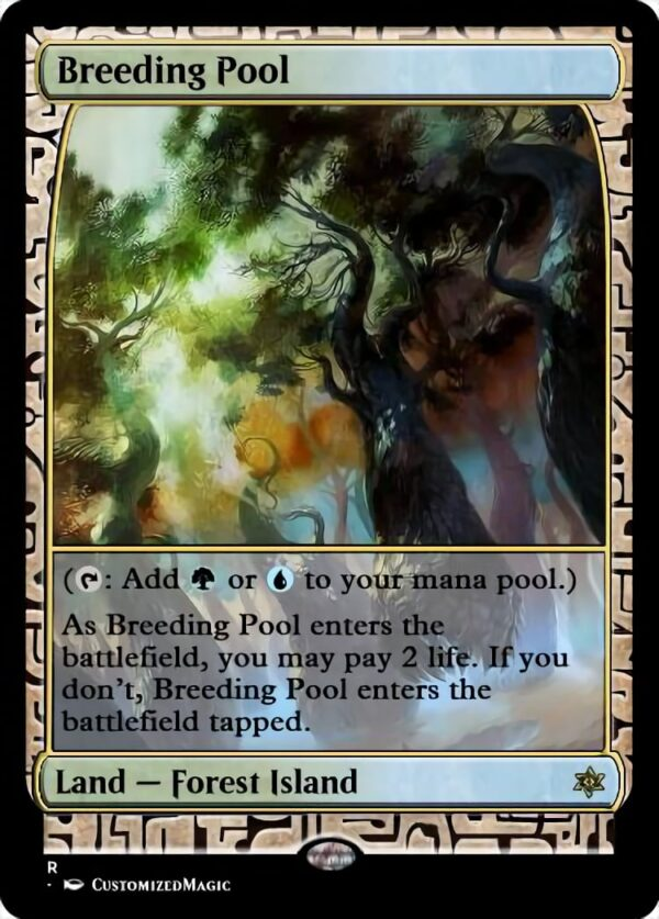 Breeding Pool - Magic the Gathering Proxy Cards