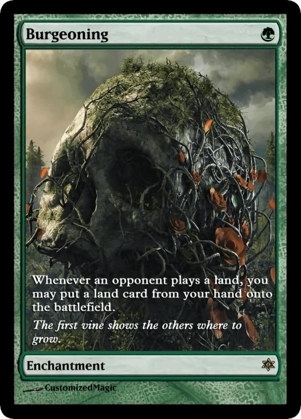 Burgeoning.3 - Magic the Gathering Proxy Cards