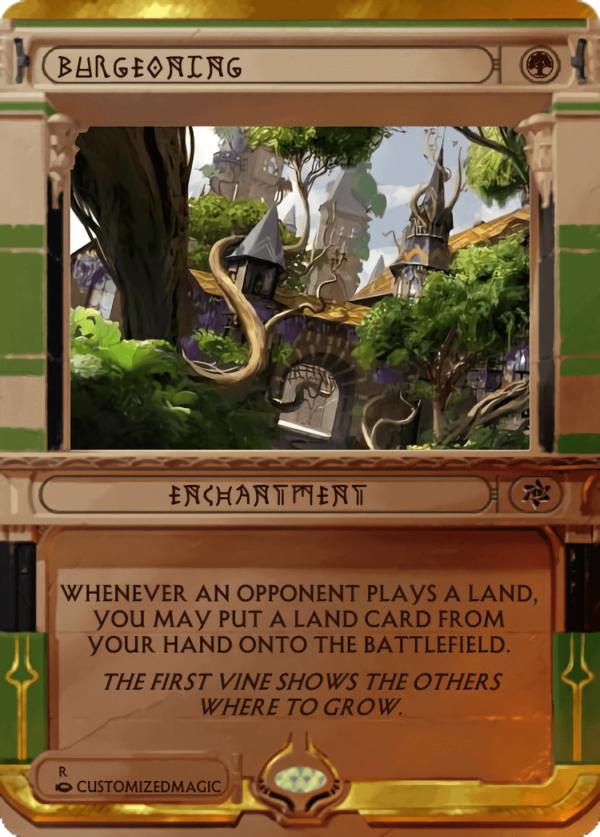 Burgeoning.4 - Magic the Gathering Proxy Cards