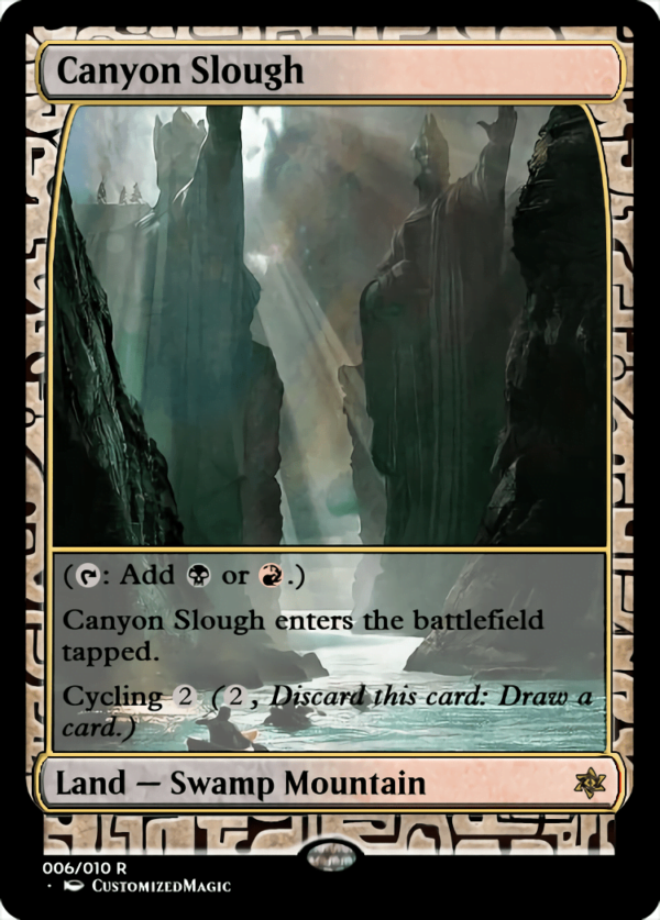 Canyon Slough - Magic the Gathering Proxy Cards