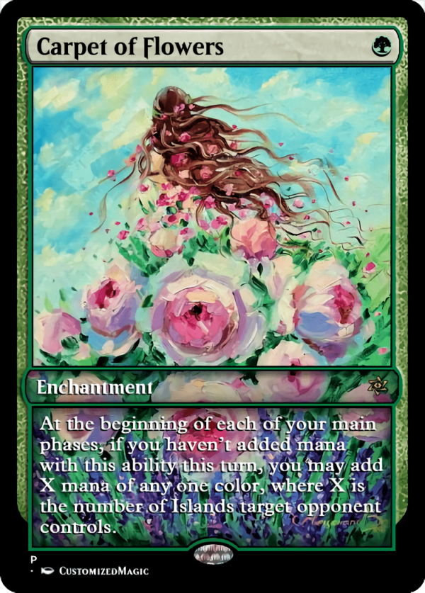 Carpet of Flowers.3 - Magic the Gathering Proxy Cards