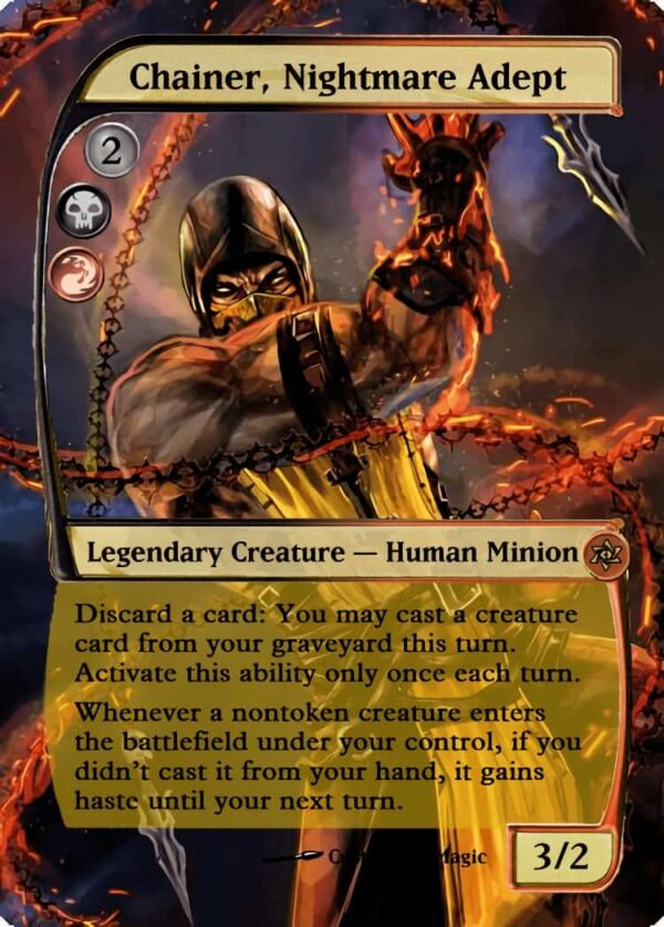 Chainer Nightmare Adept - Magic the Gathering Proxy Cards
