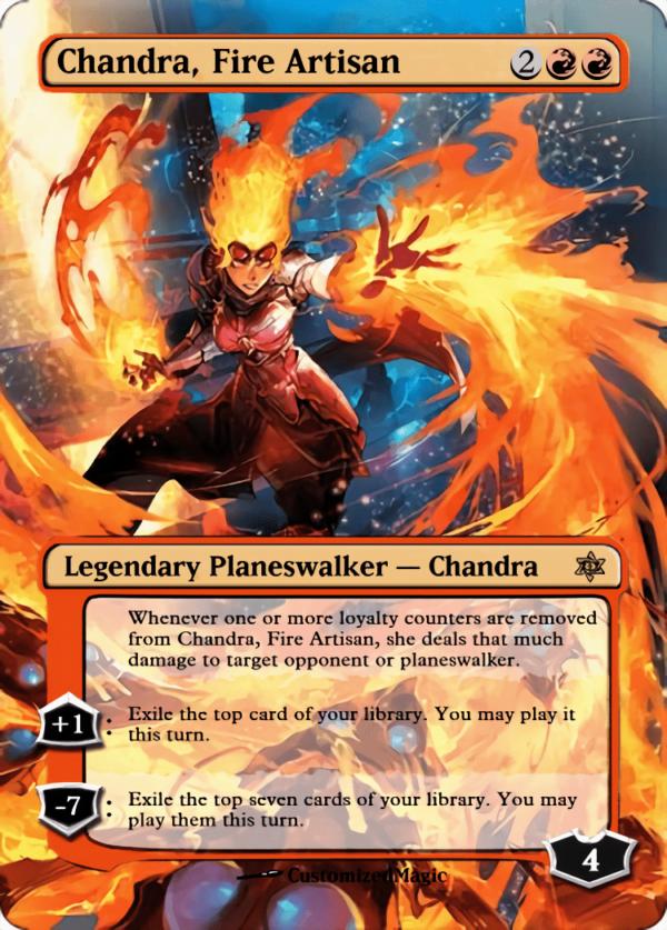 Chandra Fire Artisan - Magic the Gathering Proxy Cards