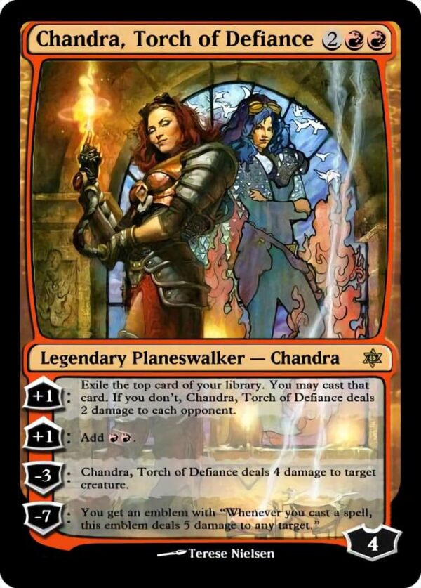 Chandra Torch of Defiance.1 - Magic the Gathering Proxy Cards