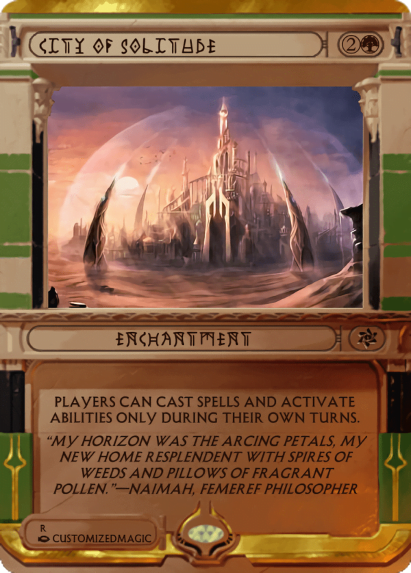 City of Solitude.3 - Magic the Gathering Proxy Cards